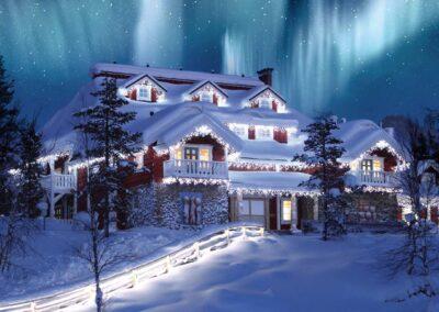 See Santa in Lapland